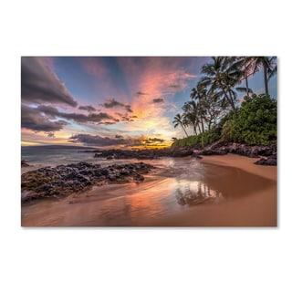 Pierre Leclerc 'Hawaiian Sunset Wonder' Canvas Art