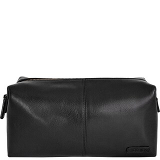 Link to Hidesign Charles Leather and Waterproof Interior Lining Toiletry Travel Bag Similar Items in Travel Accessories