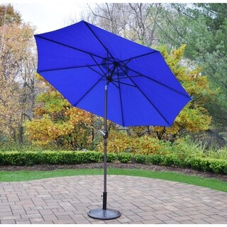 Oakland Living Corporation 9-foot Umbrella with Crank and Tilt System