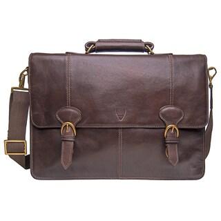 Hidesign Parker Large Leather Laptop Briefcase