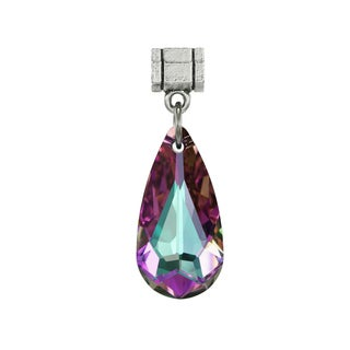 Jewelry by Dawn Light Vitrail Austrian Crystal Teardrop Pendant