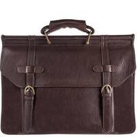 Hidesign Roma Leather Briefcase