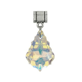 Jewelry by Dawn Aurora Borealis Austrian Crystal Baroque Pendant