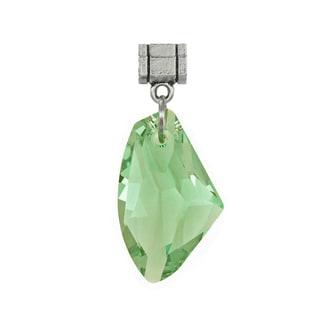 Jewelry by Dawn Peridot Green Austrian Crystal Galactic Pendant
