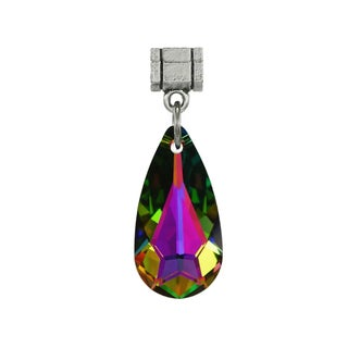 Jewelry by Dawn Medium Vitrail Austrian Crystal Teardrop Pendant