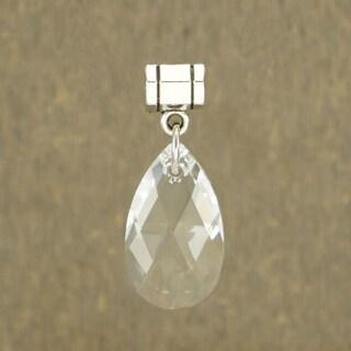 Jewelry by Dawn Clear Austrian Crystal Pear Pendant