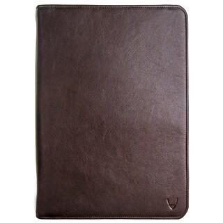 Hidesign IMG Leather iPad Portfolio and Padfolio With Handmade Paper Notebook (Option: Brown)
