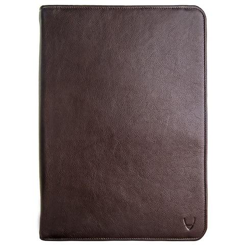 Hidesign IMG Leather iPad Portfolio and Padfolio with Handmade Paper Notebook
