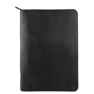 Hidesign IMG Leather iPad Portfolio and Padfolio With Handmade Paper Notebook (Option: Black)