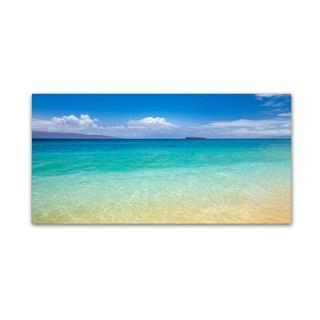 Pierre Leclerc 'Blue Beach Maui' Canvas Art