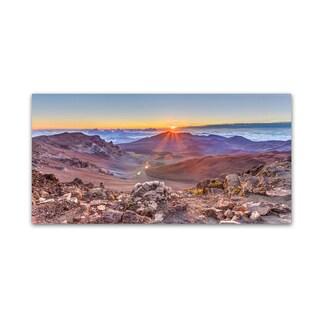 Pierre Leclerc 'Haleakala Sunrise' Canvas Art
