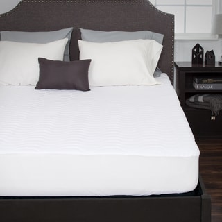 Windsor Home Down Alternative Microfiber Mattress Pad With Fitted Skirt