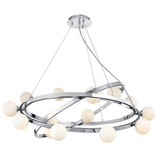 Access Lighting Nitrogen 15-light Chrome Chandelier