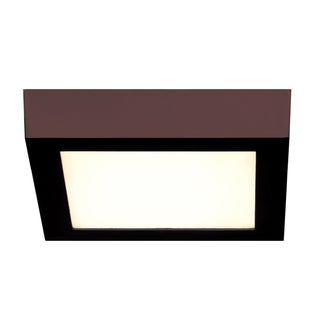 Access Lighting Strike 2.0 Dimmable LED Bronze 10-inch Square Flush Mount