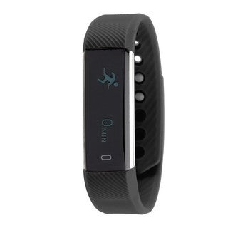 RBX Active TR5 Black Waterproof Bluetooth Activity Fitness Tracker with Touchscreen