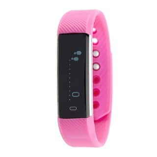 RBX Active TR5 Pink Waterproof Bluetooth Activity Fitness Tracker with Touchscreen|https://ak1.ostkcdn.com/images/products/12934690/P19686979.jpg?impolicy=medium