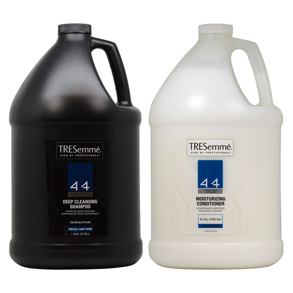 TRESemme 4 Plus 4 Deep Cleansing 1-gallon Shampoo and Moi...