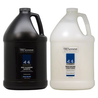 TRESemme 4 Plus 4 Deep Cleansing 1-gallon Shampoo and Moisturizing Conditioner Duo