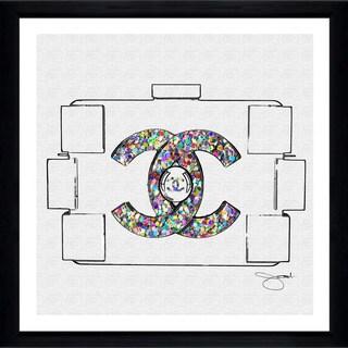 "BY Jodi ""Clear Goals 2"" Framed Plexiglass Wall Art"