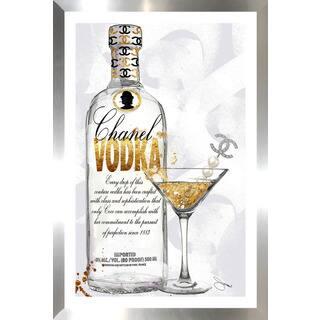 "BY Jodi ""Couture Cocktail"" Framed Plexiglass Wall Art"
