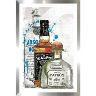 "BY Jodi ""3 Amigos"" Framed Plexiglass Wall Art"