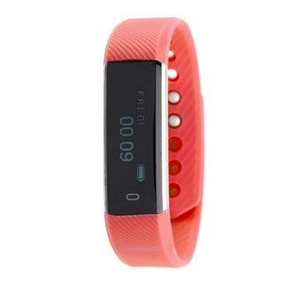 RBX Active TR5 Red Waterproof Bluetooth Activity Fitness Tracker with Touchscreen