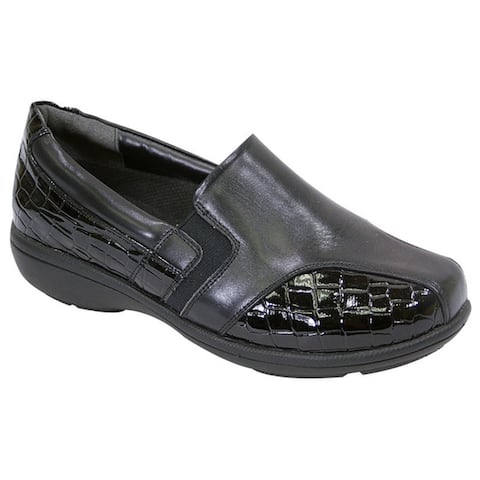 FIC PEERAGE Women's Agatha Extra Wide Width Loafer