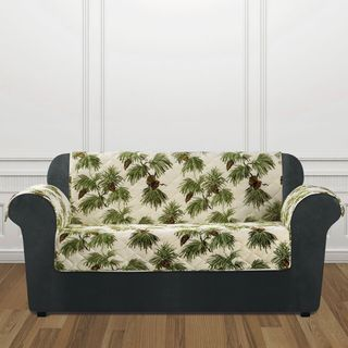 Sure Fit Holiday Pinecone Loveseat Furniture Cover