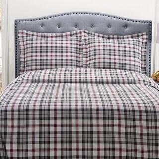 Winter Nights 100-percent Cotton Flannel Duvet Set