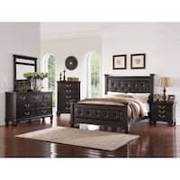Furniture of America 4-piece Transitional Style Bedroom ...