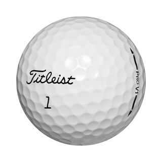 Titleist Pro V1 Recycled Golf Balls (Case of 50)