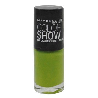 Maybelline Color Show Go Go Green Nail Lacquer