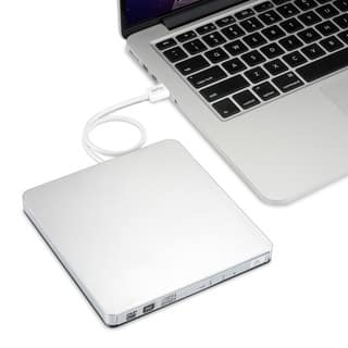 CD/DVD-RW External Drive for Apple Macbook, Macbook Pro, and Macbook Air (Option: Silver)|https://ak1.ostkcdn.com/images/products/12948311/P19699411.jpg?impolicy=medium