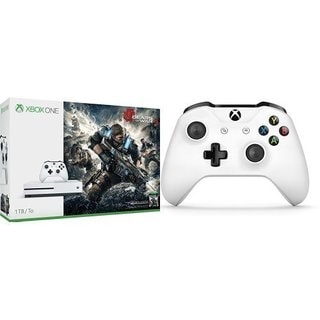 Xbox One S 1TB Console - Gears of War 4 Edition