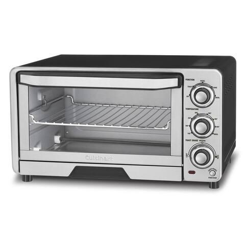 Cuisinart Custom Classic Toaster Oven Broiler, Black/Stainless