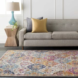Gracie Bohemian Patchwork Accent Rug - 2' x 3'