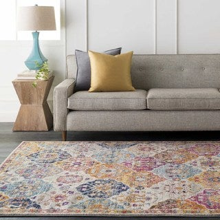 Meticulously Woven Modest Rug (5'3 x 7'3)