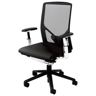 Wabi Black Mesh and Plastic Office Chair