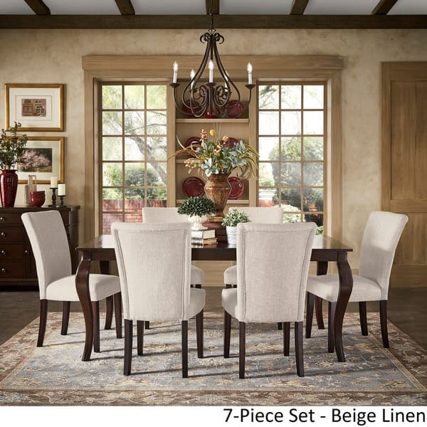 Pranzo Rectangular 72 Inch Extending Dining Table And