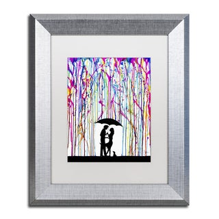 Marc Allante 'Two Step' Matted Framed Art