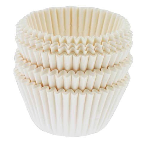 Norpro 3590 White Mini Muffin Cups 100-count
