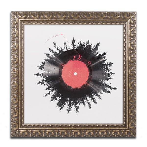Robert Farkas 'The Vinyl Of My Life' Ornate Framed Art