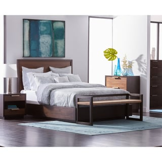 Calvin Klein Essex Platform Queen-size Bed