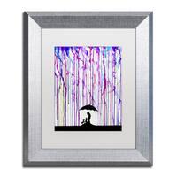 Marc Allante 'Cradle' Matted Framed Art