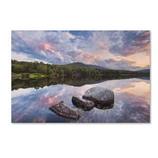 Michael Blanchette Photography 'Cloud Mirror' Canvas Art