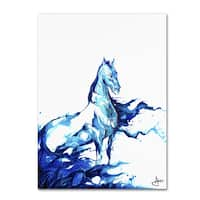 Marc Allante 'Poseidon' Canvas Art