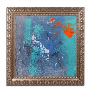 Nicole Dietz 'Mistake' Ornate Framed Art