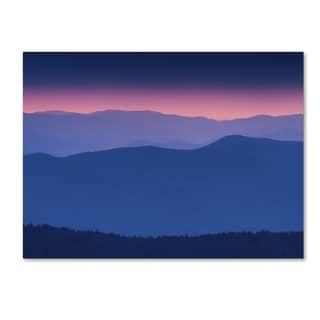 Michael Blanchette Photography 'Purple Mountains' Canvas Art