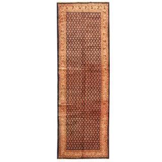Herat Oriental Persian Hand-knotted Tribal Hamadan Wool Runner (3'9 x 11'4)