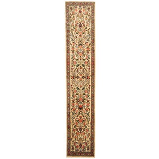 Herat Oriental Persian Hand-knotted Tribal Hamadan Wool Runner (2'5 x 12'2)